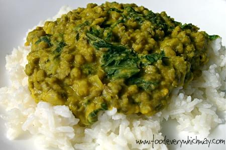 Kale & Mung Bean Daal