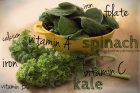 spinach and kale nutrition